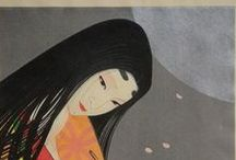 源氏物語 Genji Monogatari / Questa bacheca e` dedicata al Genji Monogatari, il capolavoro assoluto della letteratura giapponese e considerato il primo romanzo della letteratura mondiale.  L`opera e` attribuita a Murasaki Shikibu, dama di corte al servizio dell`Imperatrice Shooshi (Akiko) nel Periodo Heian (794-1185).  E` un romanzo prettamente psicologico che ci porta nel pensiero dei nobili di corte del tempo.