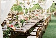 * WEDDING* {Inspiration} / Ideas and inspiration of Weddings: rustic style, minimalist style, romantic style .... Everything that inspires me about Weddings !!!