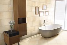 Blissful Bathrooms / Spectacular bathroom design featuring Arizona Tile products.