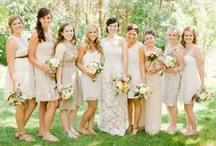 { Dressed to impress } Wedding Dresses and All The Wedding Accessories You Need! / Wedding dress ideas, accessories and bridesmaid apparel
