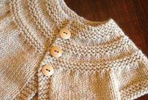 Knitting, wool and crochet