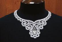 Csipke-Lace / bobbin lace and pattern