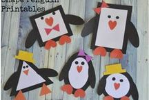 Winter Themed Activities / Printable Winter Themed Hands-On Activities