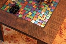 Tile Transformations / Crafty ideas for home design