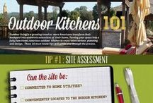 Outdoor Kitchens / Design ideas for creating outdoor Kitchens