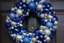 blue christmas / Christmas in blue