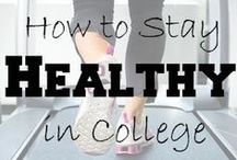 Stay fit in College / All things physical to stay fit in college.