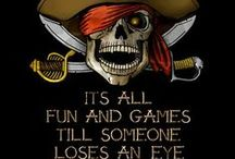 Pirate themed party ideas / All things Pirate party related. Argh me matey's!!