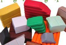 Polymer Clay Tutorial / Verschillende klei mogelijkheden....