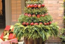 Kerstbomen Knutselen.... / Verschillende gemaakte kerstbomen