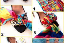Shoe Make-Over / Verschillende manieren om schoenen te versieren....