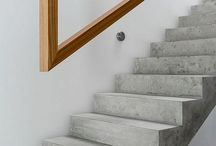 Stairs and ballustrades / Stairs, under stairs solutions and ballustrades