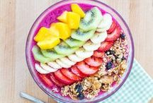 HEALTHY FOOD INSPIRATION / Healthy eating and pretty looking smoothie bowls