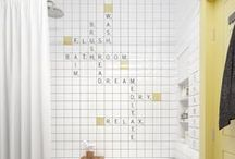 Wild Tile Wall Features! / Tile Wall Features - Water Tile Wall Features - Cool Design Ideas