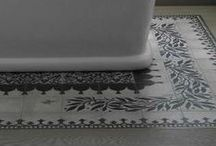 Tile Rugs that Rock! / Tile rugs, inlay patterns, design tools, and beautiful patterns to create the perfect accent tile rug for any room by Arizona Tile.