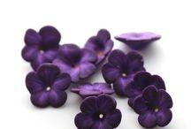 Polymer Clay Flowers / Klei bloemen
