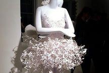 Paper Dresses / Kleding van papier