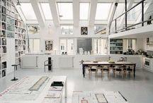 Ateliers & Studios / Artists studios and workrooms.