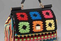 Crochet Bags / Gehaakte tassen...
