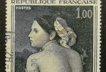 Postage stamps and collectors.