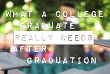 Life after graduation / You have your degree, now what? Some helpful tips for after you graduate college
