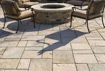 Patios That Rock! / Patios and the types of natural stone and tile used for designing  breathtaking patios!