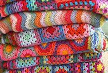 Crochet Blankets / Gehaakte dekens...