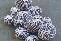 Crochet Rocks / Stenen met gehaakte omhulsel