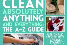 Claening tips.... / Handige schoonmaaktips