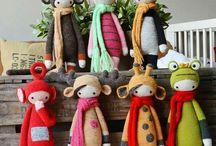 Crochet Lalylala's / Haakwerk gebaseerd op Lalylala...