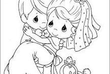 Tekeningen...Precious Moments / Leuke tekeningen