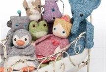 Crochet lappenpoppen / Verschillende gehaakte lappenpoppen