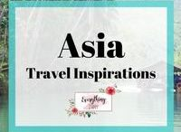 Asia Travel Inspirations / Asian destinations, Asia Travel inspirations, Asia Travel tips and many more all about Asia