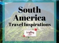 South America Travel Inspirations / All about trips and travel to South America.   South America trips, South America travel tips, South America guides, South America travel itineraries, South American food.