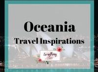 Oceania Travel Inspirations / All about trips and travels in New Zealand,  Australia and the Pacific.   Oceania trips, Oceania travels, Oceania itineraries, Oceania guides, New Zealand trips, New Zealand travel guides, New Zealand travel inspirations, Australia travel guide, Australia trips and many more!