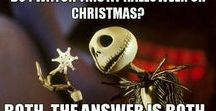 The Nightmare Before Christmas / Halloween, christmas and all in between.
