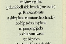 Workouts / by Crystal Gause