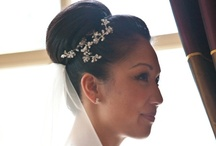 Bridal Hairstyles: Buns / This particular pin board includes pictures of beautiful bun styles created by Pam Wrigley.