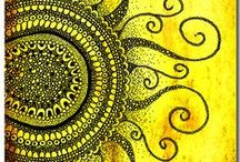 doodling & zentangle & mandala