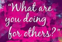 Quotes for Nonprofits / This is our board for inspiring quotes about leadership and personal and professional growth. Great for the nonprofit professional or anyone working towards social good.