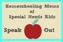 Homeschooling Special Needs / Children with special needs are extra special blessings. Here you will find encouragement, resources, curriculum, and tips to homeschool your special needs child. Join us for rest and rejuvenation at the Real Refreshment Retreats for homeschool Moms, www.RealRefreshment.com  / by Real Refreshment Retreats