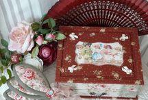 """Mes cartonnages """"Darlingcousette"""" / Boîtes à couture et autres objets"""
