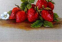 Ma galerie Still Life fruits et légumes / Mes natures mortes aux fruits et légumes
