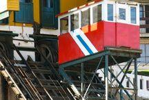 Chili - Valparaiso / Mes voyages - Les couleurs des cerros