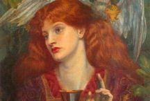 Pre-Raphaelite painters / Works
