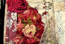 Art textile / Tissus, dentelles et petits ornements
