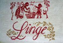 De fil en aiguille / Broder - coudre - tricoter