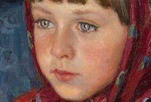 Portraits - peinture / Portraits - personnages
