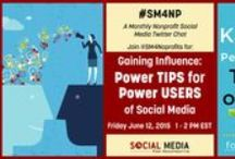 Twitter Chat Images / We get inspired by good marketing on Tweetchats (AKA Twitterchats). We lead two ourselves: #M4NP and #SM4NP! We invite you to join us on Twitter.