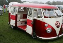 VW vans and campers / by Stephanie Dunkle